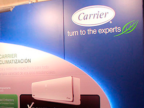 Carrier-Surrey: Stands para Real State, en el hotel Sheraton.